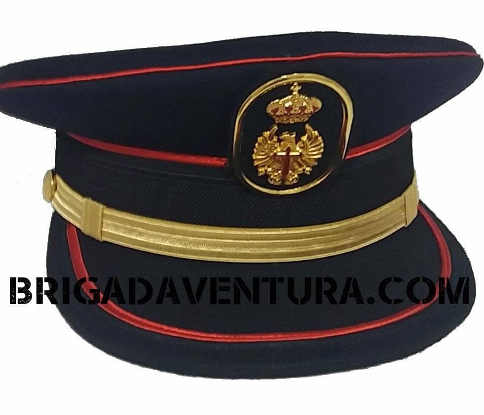 Gorra Plato Gran Gala Tropa Ejército Tierra Azul  10bd7861c47