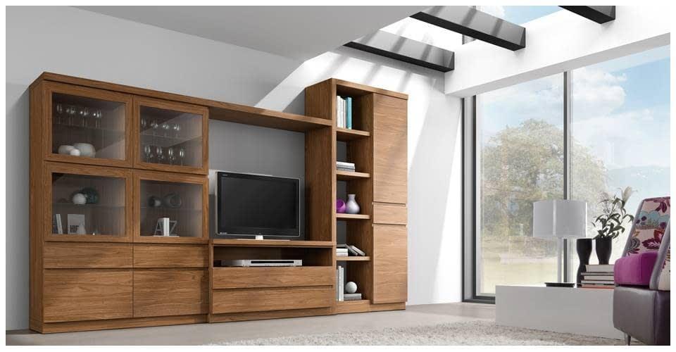 Mueble Salon Modelo Roma Ancho 3.35   Comercial Gran Via