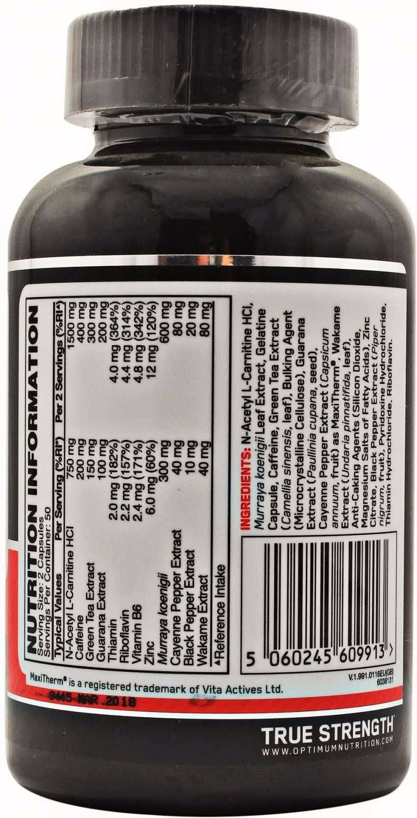 Optimum Nutrition Thermo Cuts | Todo