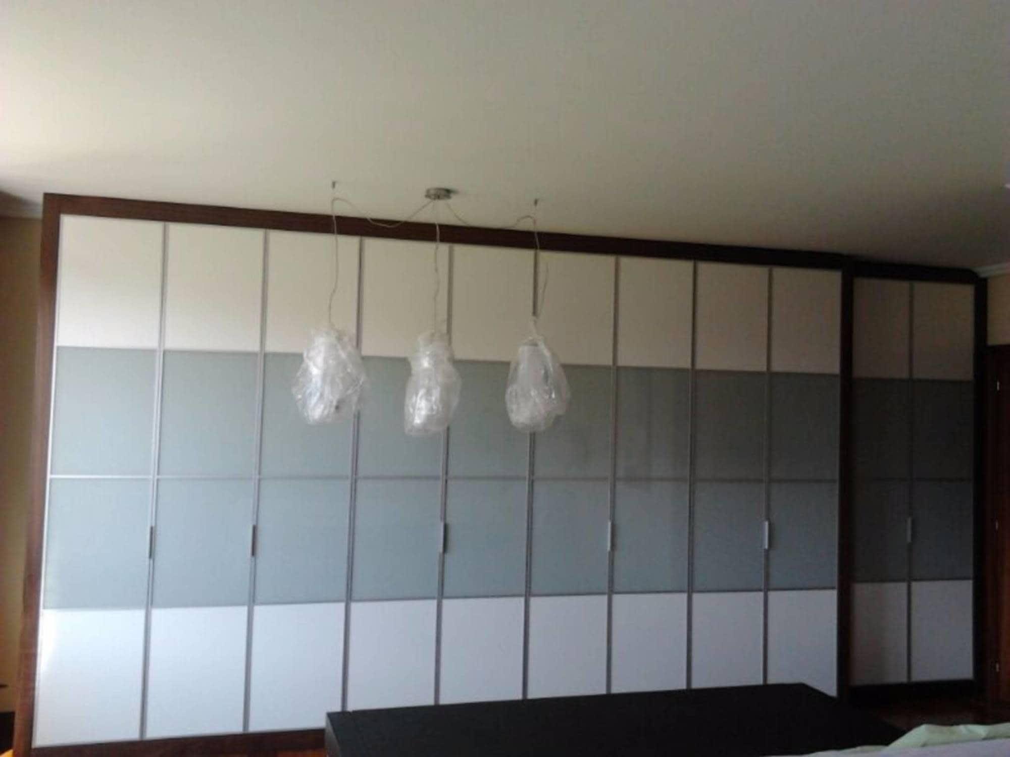 Armario A Medida De Puertas Con Perfil De Aluminio Y Japonesas  ~ Armarios De Aluminio Para Exterior