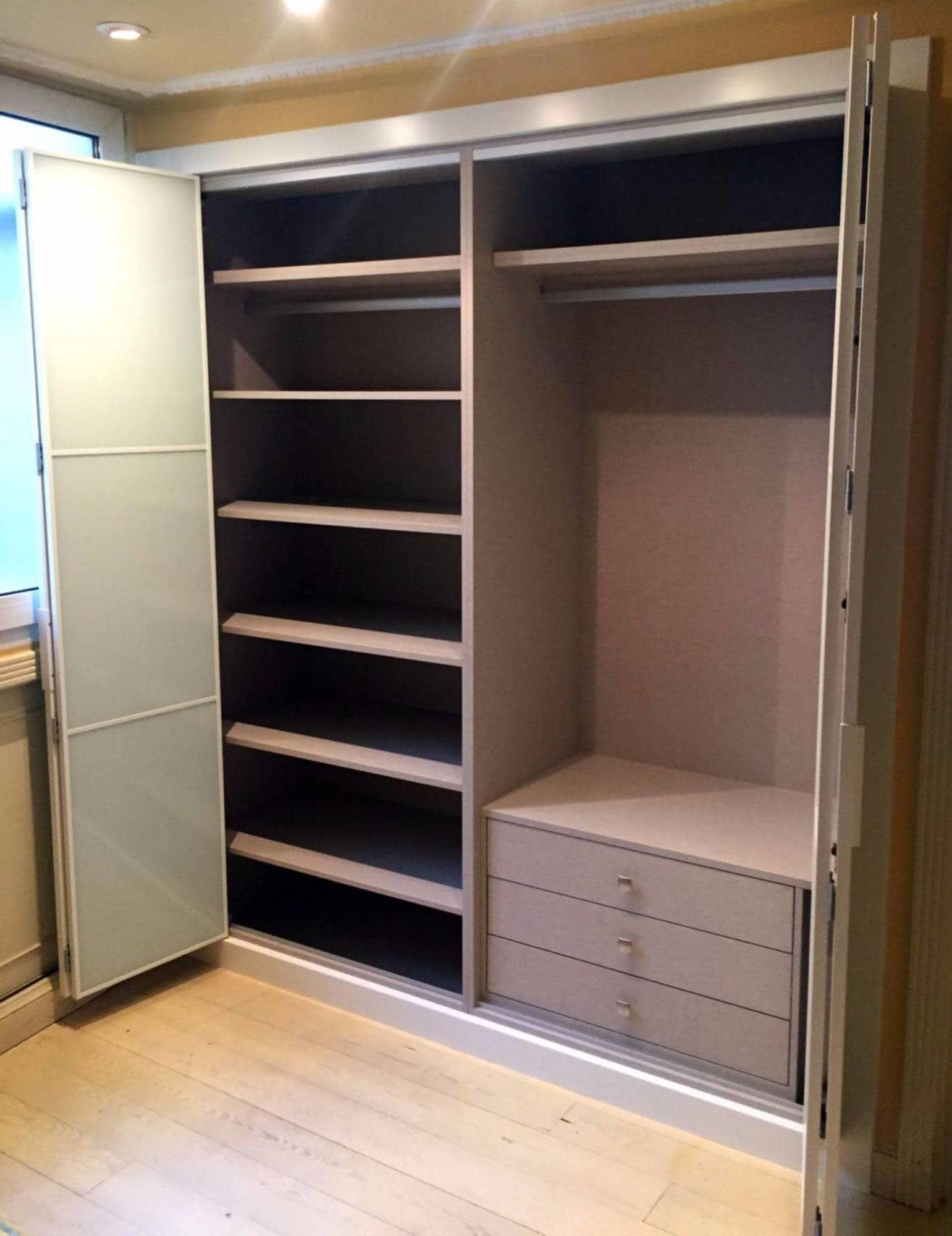 Interiores de armarios empotrados en kit interesting - Kit puertas plegables ...