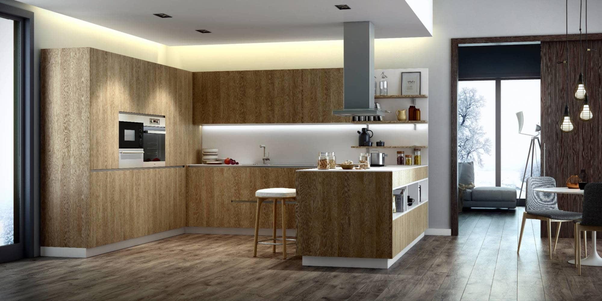 Magnífico Cocinas A Medida Nyc Ideas Ornamento Elaboración ...