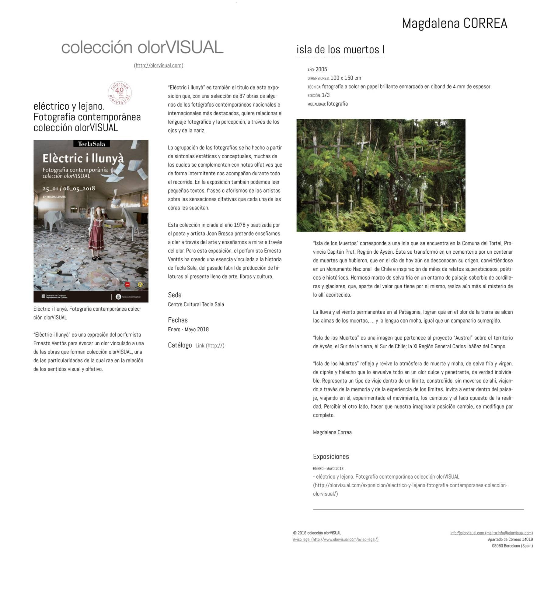 Escritos   Magdalena Correa