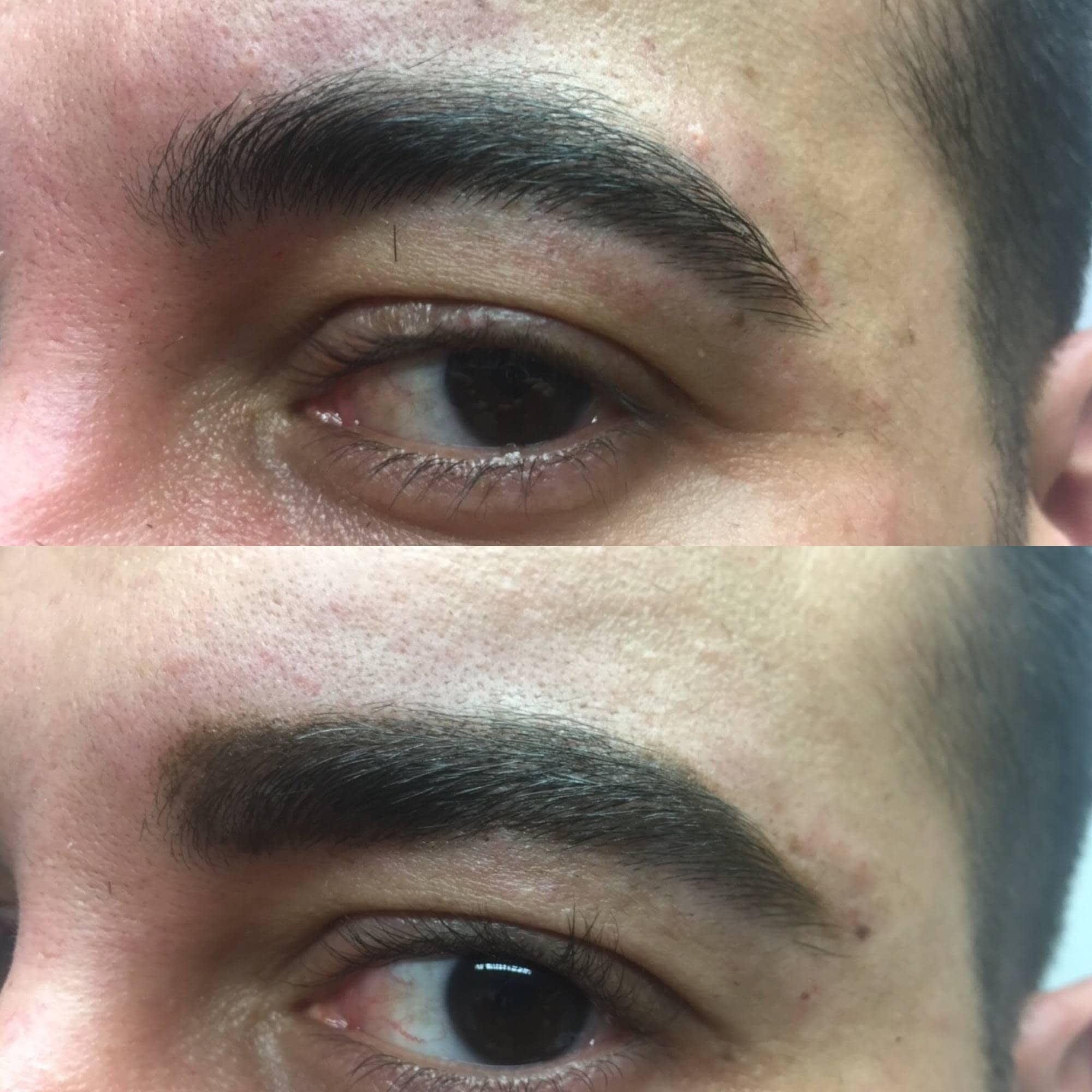 Cejas De Hombre microblading cejas, pelo a pelo para hombre | centro de