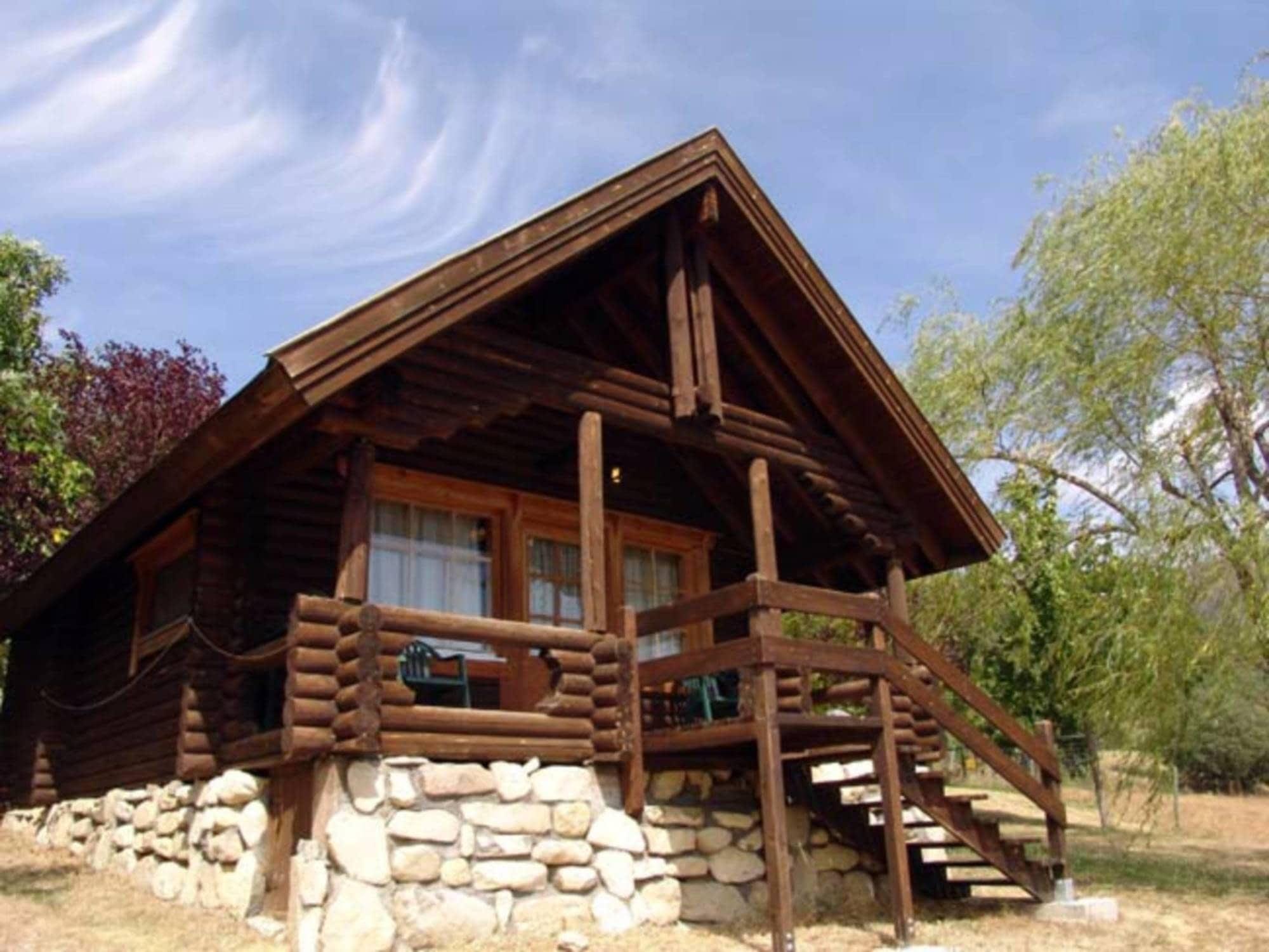 Casa De Madera Para 4p Con Chimenea Los Tres Albares Alojamiento
