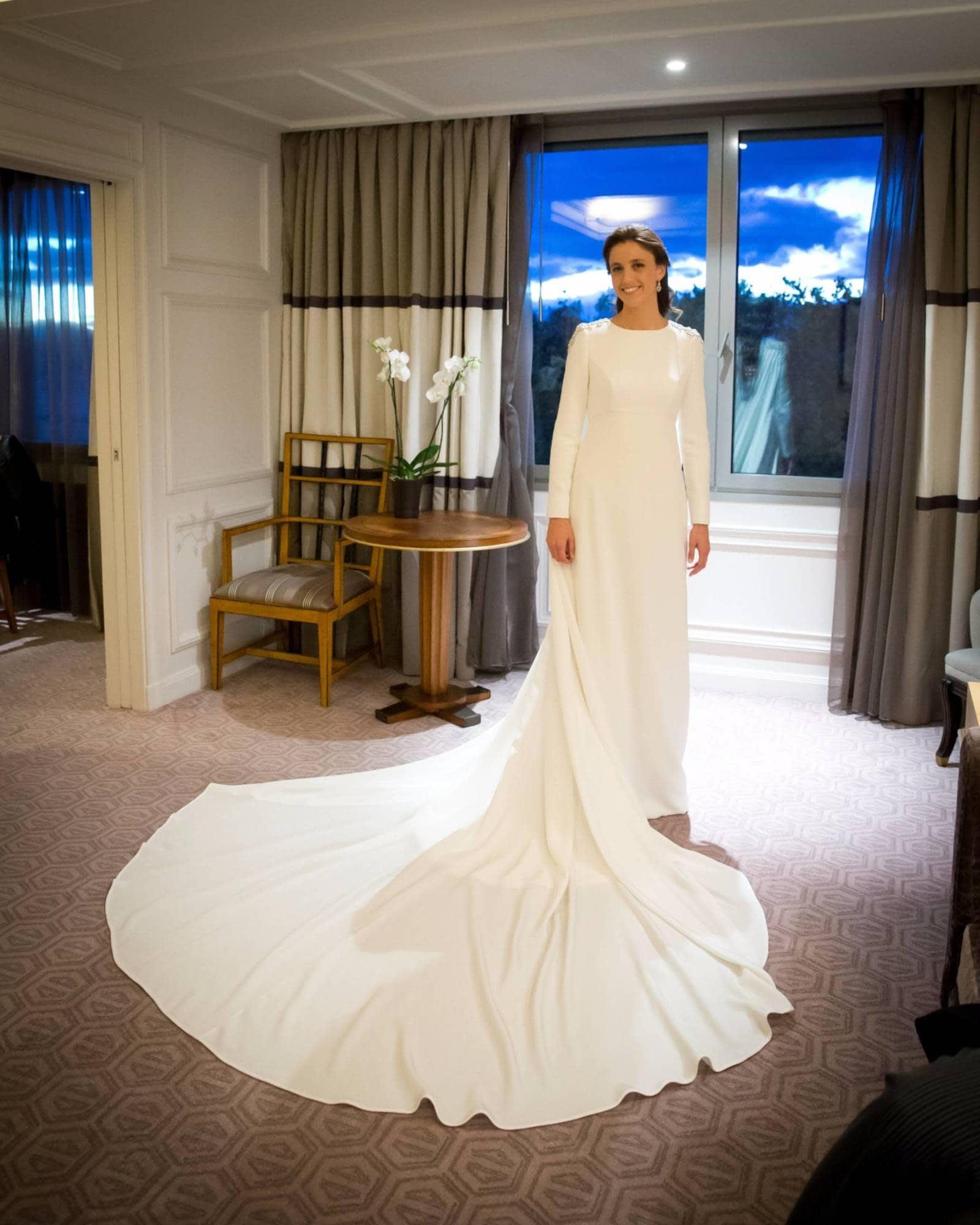 Rosa carbone vestidos de novia madrid