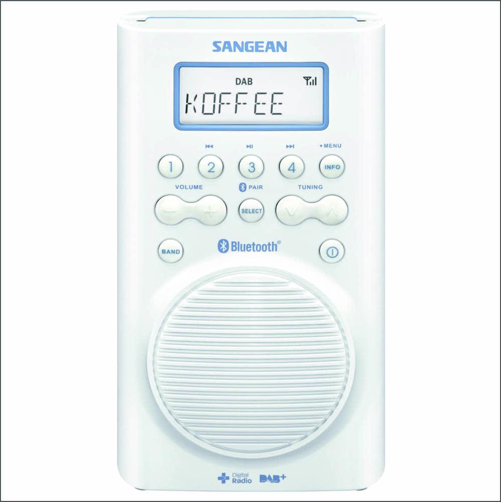 Radio Para Baño   Sangean H205 D Radio Para Ducha Radiogalery Radios Regalos Y