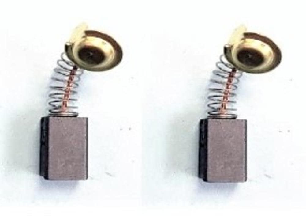 Con dispositivo de desconexi/ón 2.4x2.8x5.1 Escobillas de Carb/ón para HITACHI G 10SK3 amoladora 6,5x7,5x13mm