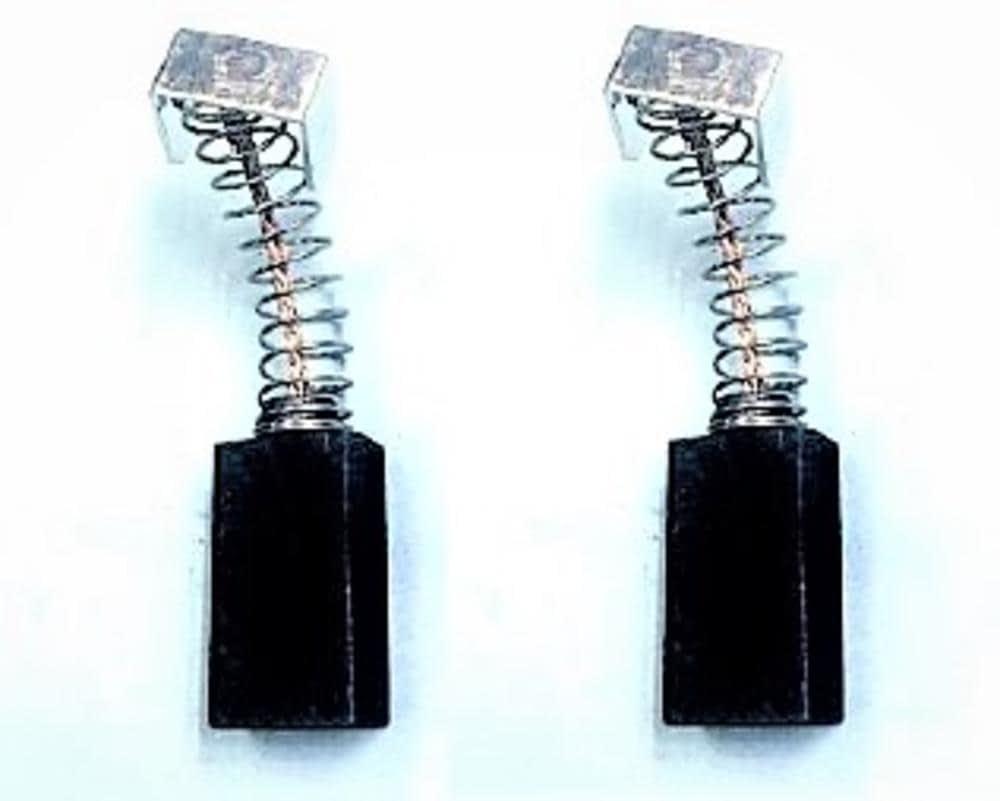 2.4x3.9x8.7 Escobillas de Carb/ón para VIRUTEX PDE446L lijadora 6,4x10x22,5mm