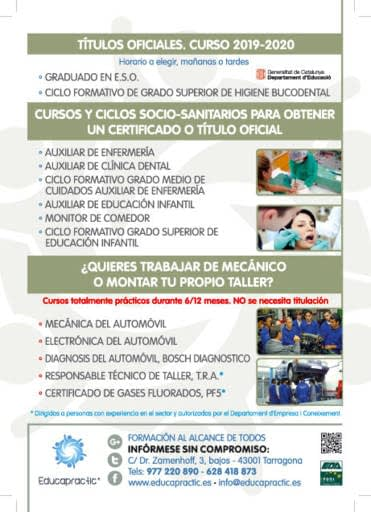 Academia Educapractic Tarragona Cursos Formacion Profesional